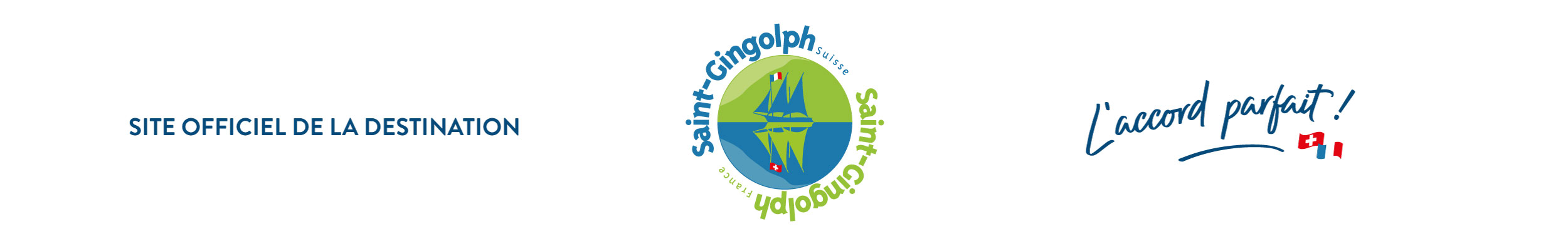 Saint-Gingolph, destination franco-suisse – Tourisme Loisirs Culture Logo